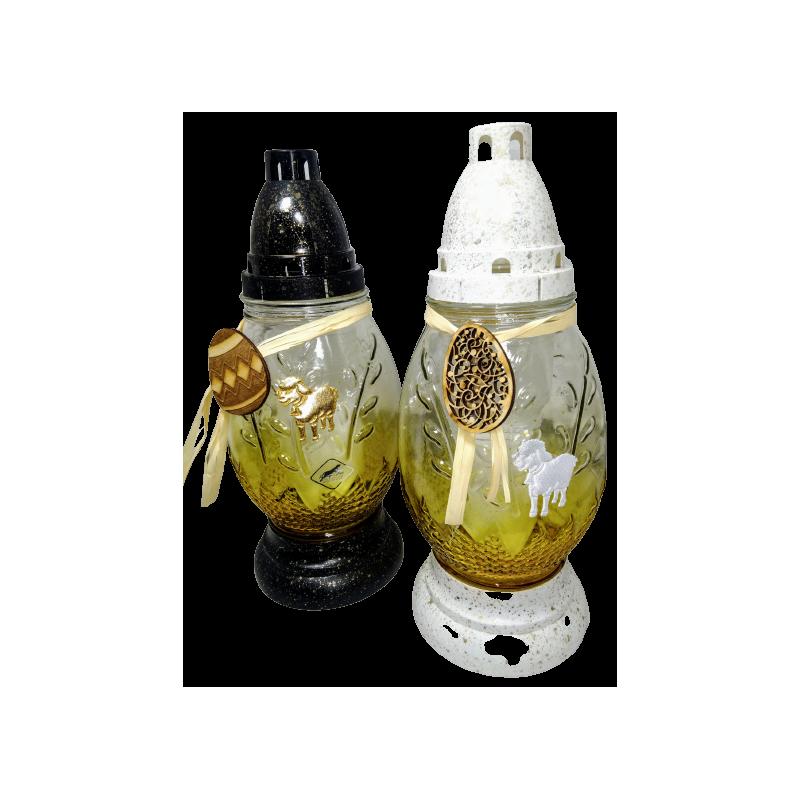 10.LAMPION GIPS 4 SZT